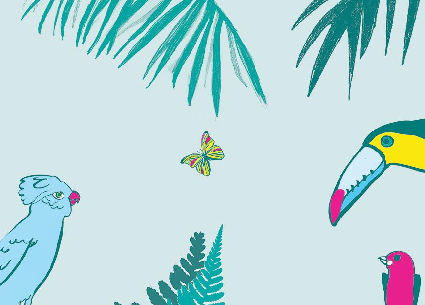 Funky Jungle is met vakantie