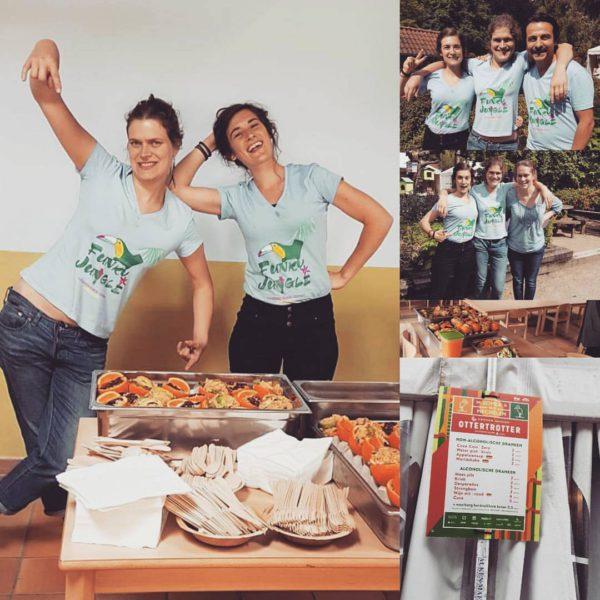 Het was een leuke ervaring (en ook een hele eer) om de vrijwilligers en artiesten te verwennen met funky food ;)